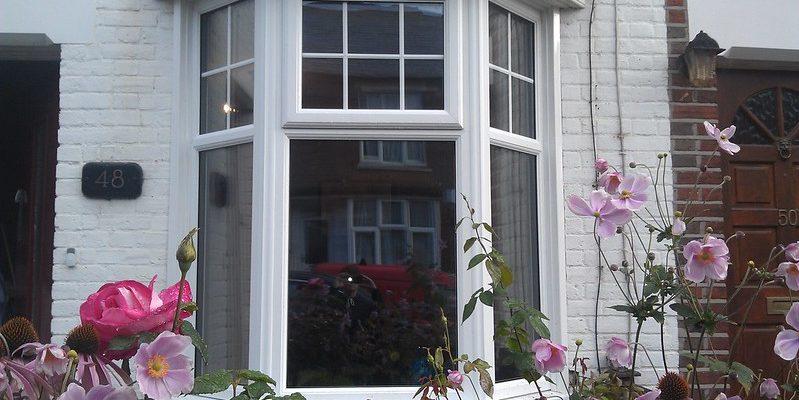triple glazed bay windows