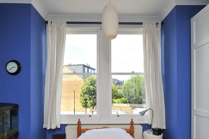 a bedroom window