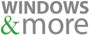 Windows & More Logo