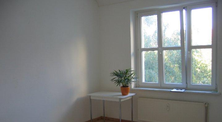 Window in an empty room