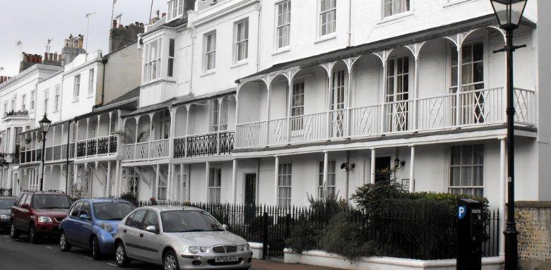 houses with sash windows