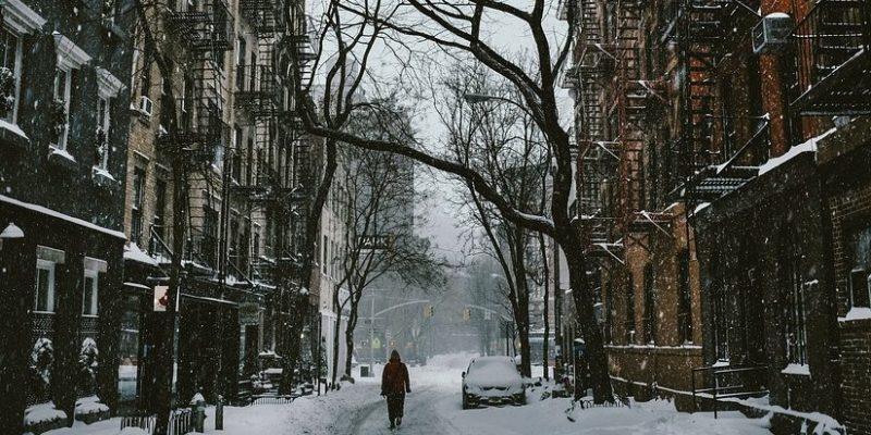Wintery street